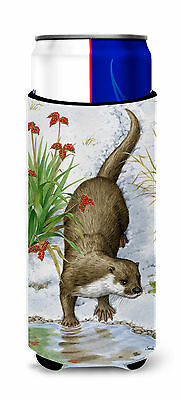 Otter by the Water Ultra Beverage Insulators for slim cans