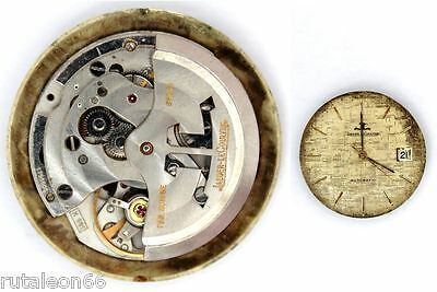 JAEGER LECOULTRE K 881 original automatic watch movement working (4361)