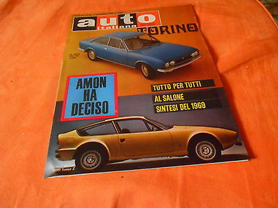 Auto  Italiana Nr 45   6-11-1969  Alfa Romeo 1300 Junior Z   Fiat  124  Coupe'