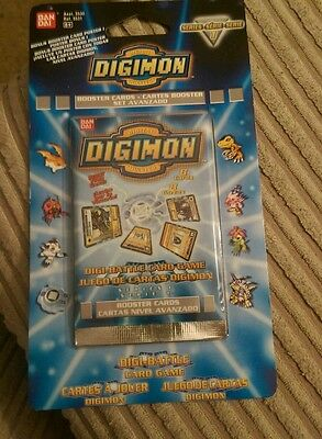 Digimon Series 1 Booster Pack 1999 New Sealed Bandai Rare worldwide post