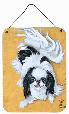 Japanese Chin Black White Play Wall or Door Hanging Prints