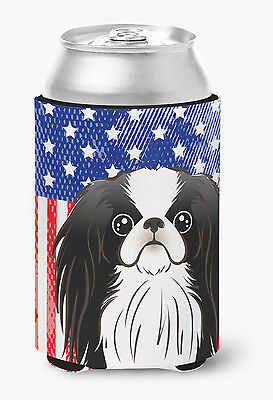 American Flag and Japanese Chin Can or Bottle Hugger