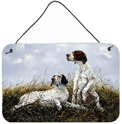 English Pointer by Michael Herring Wall or Door Hanging Prints