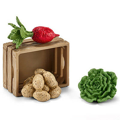 Schleich 42289 Feed Set for Pigs and Piglets Toy Model Beet Lettuce Potato - NIP