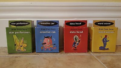 Cranium Board Game Replacement Cards only (all decks)
