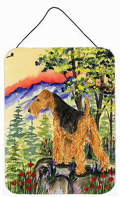 Lakeland Terrier Aluminium Metal Wall or Door Hanging Prints