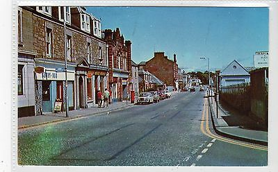 HIGH STREET, MONIFIETH: Angus postcard (C21053)