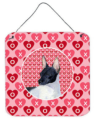 Carolines Treasures  SS4480DS66 Rat Terrier  Aluminium Metal Wall or Door Hangin