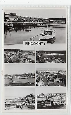 FINDOCHTY: Banffshire multiview postcard (C21161)