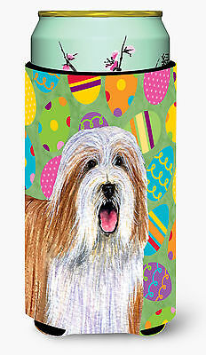 Bearded Collie Easter Eggtravaganza  Tall Boy Beverage Insulator Beverage Insula