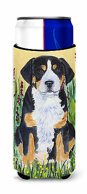 Greater Swiss Mountain Dog Ultra Beverage Insulators for slim cans