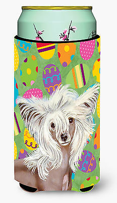 Chinese Crested Easter Eggtravaganza  Tall Boy Beverage Insulator Beverage Insul