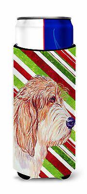 Petit Basset Griffon Vendeen Candy Cane Holiday Christmas Ultra Beverage Insulat