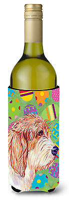 Petit Basset Griffon Vendeen Easter Eggtravaganza Wine Bottle Beverage Insulator