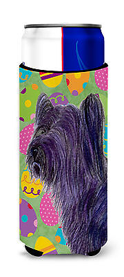 Skye Terrier Easter Eggtravaganza Ultra Beverage Insulators for slim cans