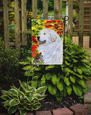 Carolines Treasures  SS8235GF Great Pyrenees Flag Garden Size