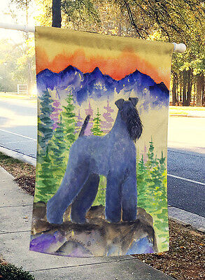 Carolines Treasures  SS8223CHF Kerry Blue Terrier Flag Canvas House Size