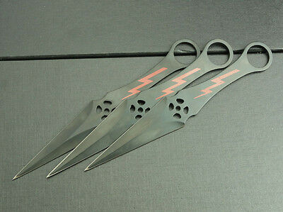 Set of 3 Throwing Knives Lighting Design High Quality Steel Aussie Seller Fast