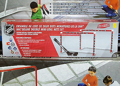 NHL Double Mini Net Set – 7 Canadian Teams Special Edition