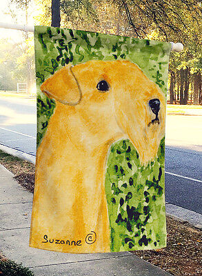 Carolines Treasures  SS8804CHF Lakeland Terrier Flag Canvas House Size
