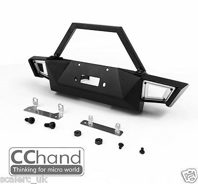 NEW 1/10 METAL Front Bumper for AXIAL Cherokee, SCX10 90046/90047/90027/90035