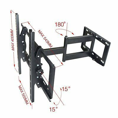 Réglable LED LCD écran TV Support Mural Universel Inclinable 32''-55''