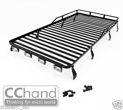 2016 NEW 1/10 Land Rover Defender D110 Roof Rack Rock Crawler Luggage Tray