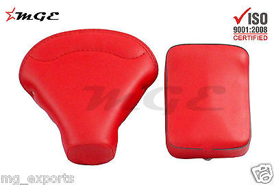 Vespa VBB VBA 125 150 Front + Rear Seat RED HIGH QUALITY #SE019 @MGE