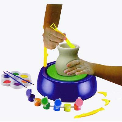 Kids Children Artistic Fun Creative Pottery Machine Art Educational Toy Gift