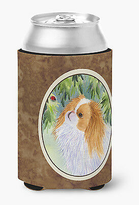 Carolines Treasures  SS8260CC Japanese Chin Can or Bottle Beverage Insulator Hug
