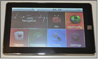 7'' 8GB Car GPS Navigation SAT NAV Navigator Maps+ AV-IN+Reverse Camera
