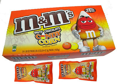 M & M's White Chocolate Candy Corn Packet - Direct From USA