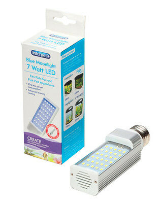 Interpet LED Energy Saving Lamp to Fit All Fish Pod and Fish Box Aquariums, 7 W • EUR 23,71