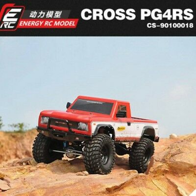 [90100018] 1/10 CROSS TRUCK PG4RS Scale 4X4 Truck [Poly Body]
