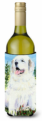 Great Pyrenees Wine Bottle Beverage Insulator Beverage Insulator Hugger