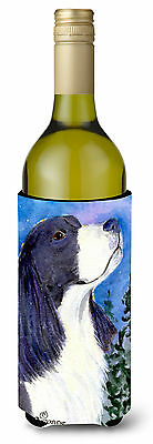 English Springer Spaniel Wine Bottle Beverage Insulator Beverage Insulator Hugge