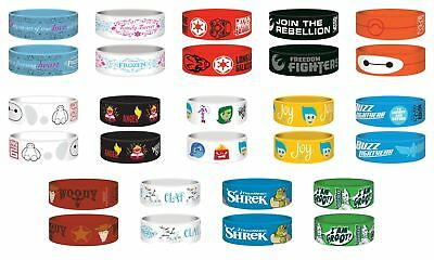 Junior Kids Bracelet Wristband Disney Star Wars Frozen Toy Story Gift Official