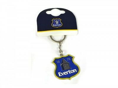 Everton FC Football Club Crest Badge Blue Metal Keyring Keychain Tower Official