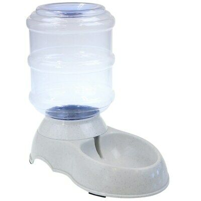 Automatic Large Plastic Pet Dog Cat Water / Food Feeder Bowl Fountain Dispenser