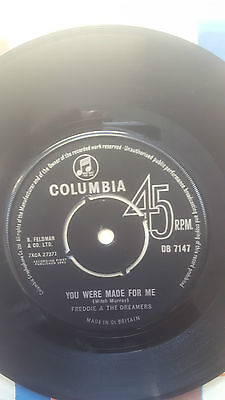 Freddie & The Dreamers - You Were Made For Me - 1963 UK - Columbia - DB 7147