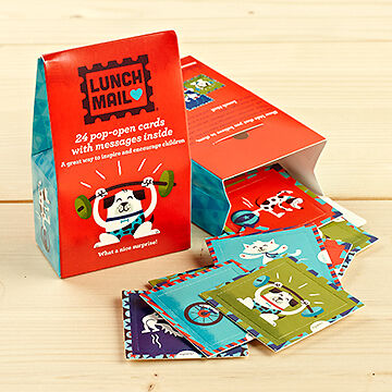 Lunch Mail for kids – 'Cats & Dogs'