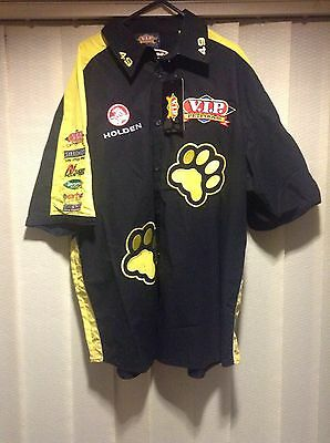 Vip Pet Foods Holden Sports Buttoned Shirt. New