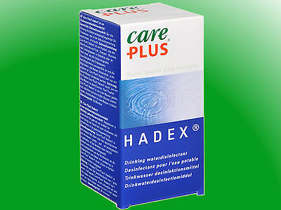 (29,83€/100ml) Care Plus Hadex Wasserentkeimung 30ml, Wasserdesinfektion