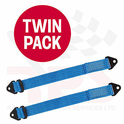 Suspension travel limiting strap TWIN PACK - Race / Rally / Off Road / 4x4