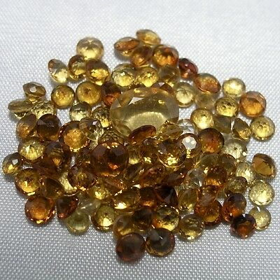 Echte Citrine - Wholesale Lot - 20ct - Diverse Größen