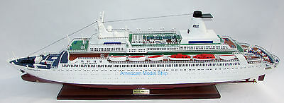 "Pacific Princess  39""- The Love Boat Model ready for display - Wooden model Ship"