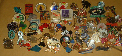 Collection Of 70 Pin Badges (Lot 3)