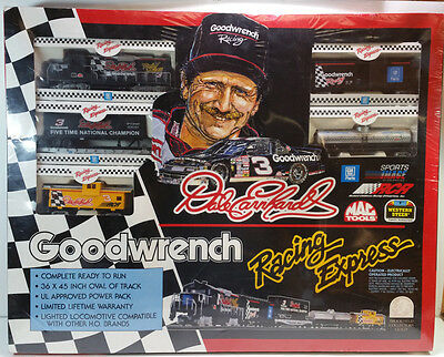 Dale Earnhardt Goodwrench Racing Express HO Scale Train Set - Brand New