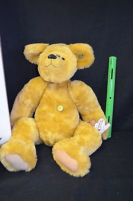 """Limited Ed. Annette Funicello Collectible Bear Co. Large 24"""" Honey Bear & COA"""