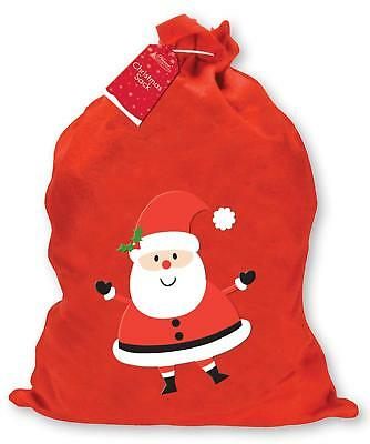 Large Santa Sack Christmas Gift Present Red Xmas Bag Toy Stocking Decoration